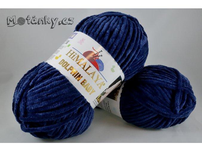 Dolphin Baby 80321 tmavě modrá