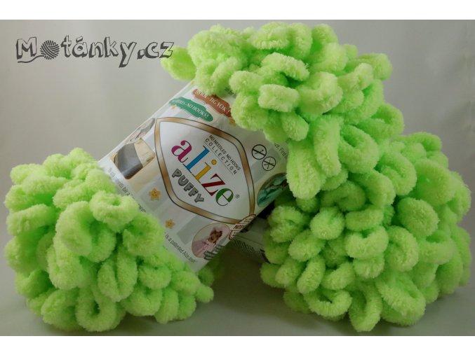 Puffy 041 zelenkavá