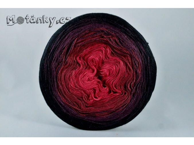 Duhovka  červená, bordó, vínová, černá 900m