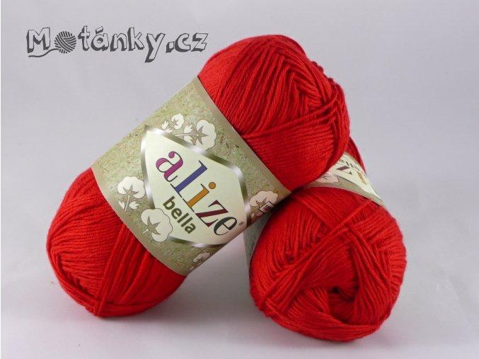 Bella 056 červená