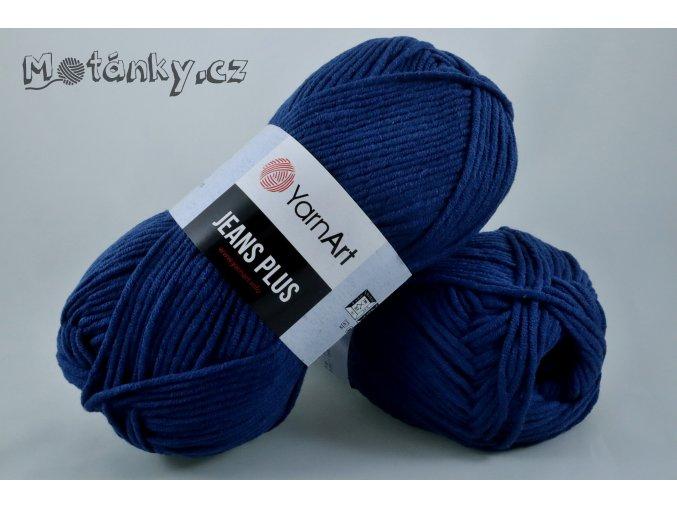 Jeans plus 54 tmavě modrá