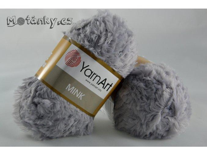 Mink 334 světle šedá