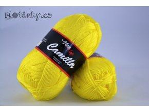 Camilla 8184 citronově žlutá