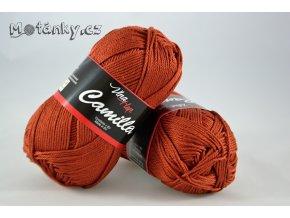 Camilla 8238 skořicově hnědá