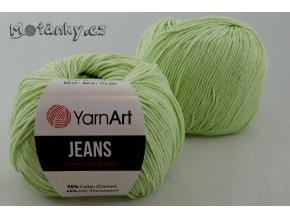 Jeans 11 světle zelená