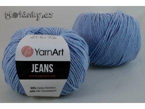 Jeans 15 světle modrá