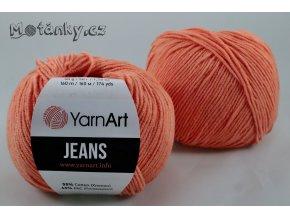 Jeans 23 oranžová