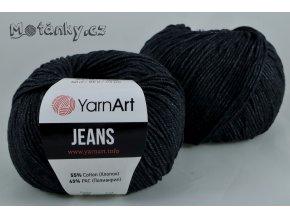 Jeans 28 černošedá