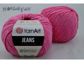 Jeans 42 růžová