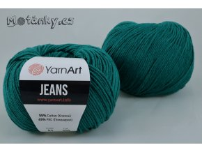 Jeans 63 smaragdová