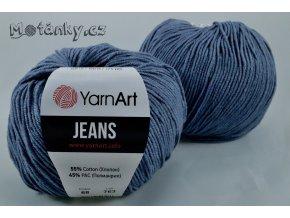 Jeans 68 šedomodrá