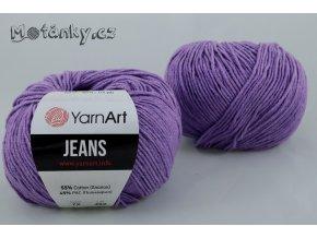 Jeans 72 fialová