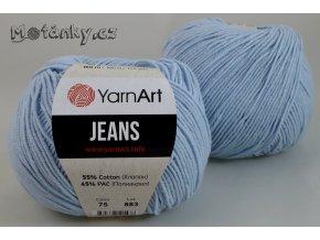 Jeans 75 jemně modrá