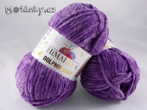 Dolphin Baby 80340 tmavě fialová