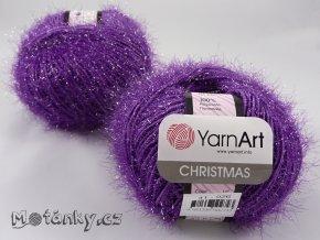 Christmas 41 tmavě fialová