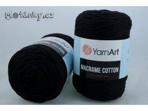 Macrame Cotton 770 černá