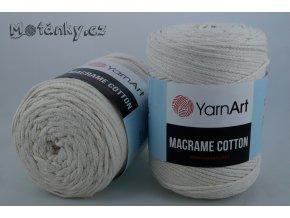 Macrame Cotton 773 smetanová