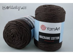 Macrame Cotton 769 tmavě hnědá