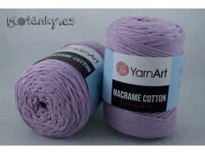 Macrame Cotton 781 levandulová