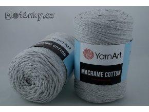 Macrame Cotton 783 světle šedá