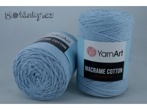 Macrame Cotton 790 světle modrá