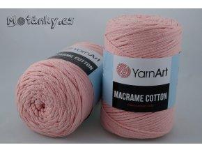 Macrame Cotton 791 lososová
