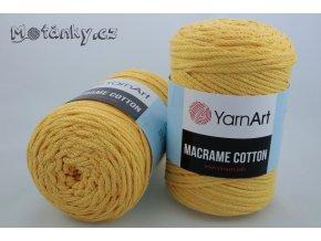 Macrame Cotton 794 žlutá