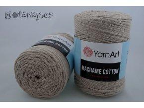 Macrame Cotton 753 béžová