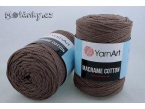 Macrame Cotton 791 hnědá