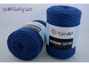 Macrame Cotton 772 královská modrá