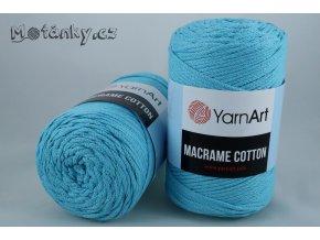 Macrame Cotton 763 světle tyrkysová