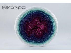 Duhovka fuchsie, ostružina, tm.fialová, petrolej, opal, mint, bílá 750m