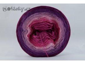 Duhovka  fuchsie, cyklámen, růžová, starorůžová, fialová, ostružina 750m