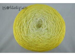 Bella ombre batik 7414 žlutá