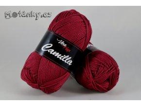Camilla 8020 vínově červená