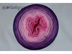 Duhovka cyklámen, růžová, starorůžová, fialová, tm.fialová 900m
