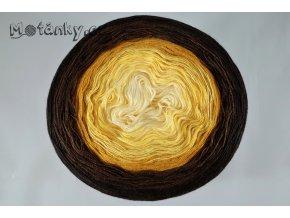 Duhovka sv.žlutá, žlutá, hořčice, čokoládová, tm.hnědá 900m