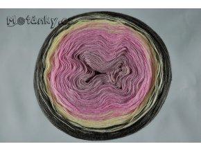 Duhovka pudrová, růžová, sv.žlutá, taupe 900m
