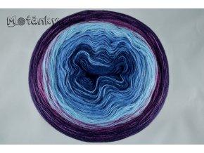 Duhovka petrolej, modrá, sv. modrá, fialová, tm. fialová 900m
