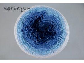 Duhovka petrolej, modrá, sv.modrá, bílá 1100m