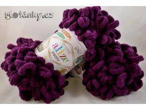 Puffy 111 švestkově fialová