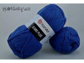 Jeans plus 47 královská modrá