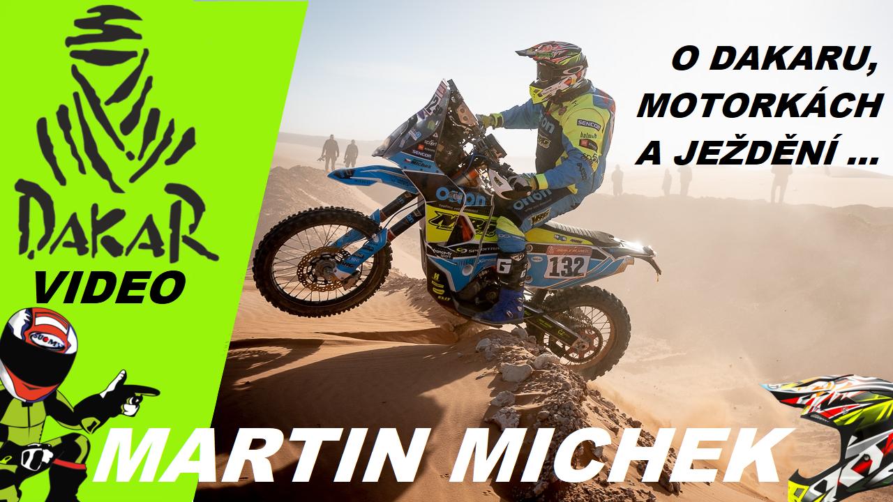 Martin Michek a český rekord na Dakaru
