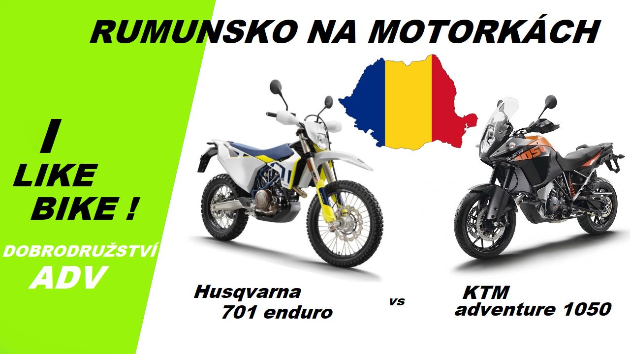 RUMUNSKO NA MOTORKÁCH S MOTOMANEM !