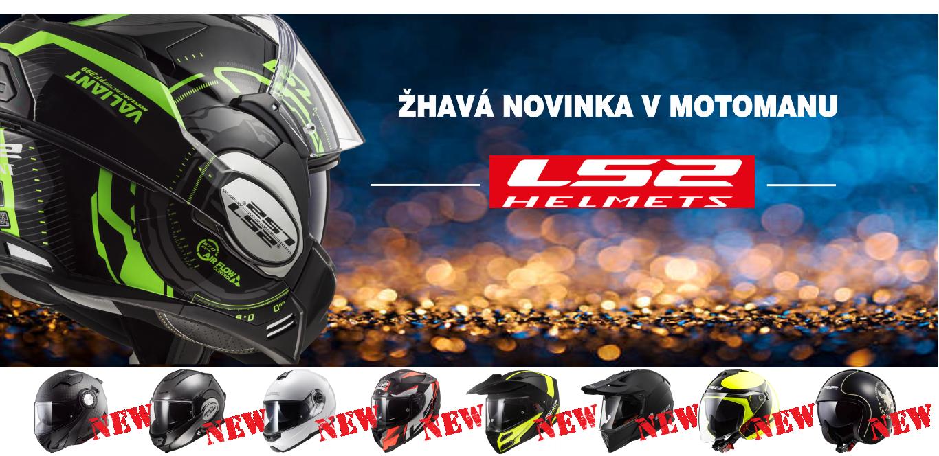 Nové přilby LS2 na skladu