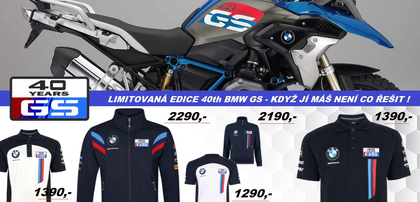 BMW motorrad- r1150gs , r1200gs , r1250gs , f800gs a f850gs 40 výročí