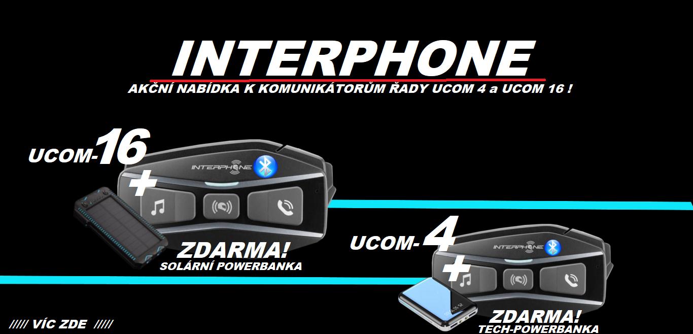interphone moto komunikace s dárkem zadarmo