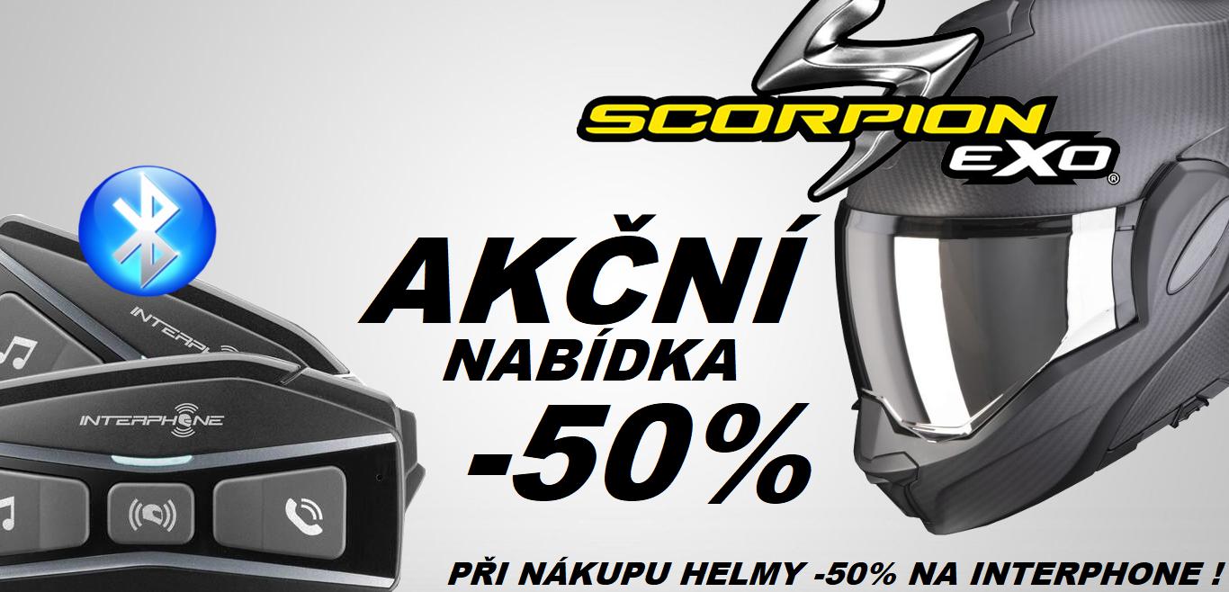 scorpion + interphone  -50%