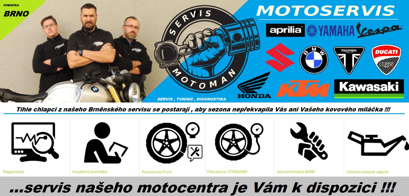 SERVIS MOTOMANBRNO