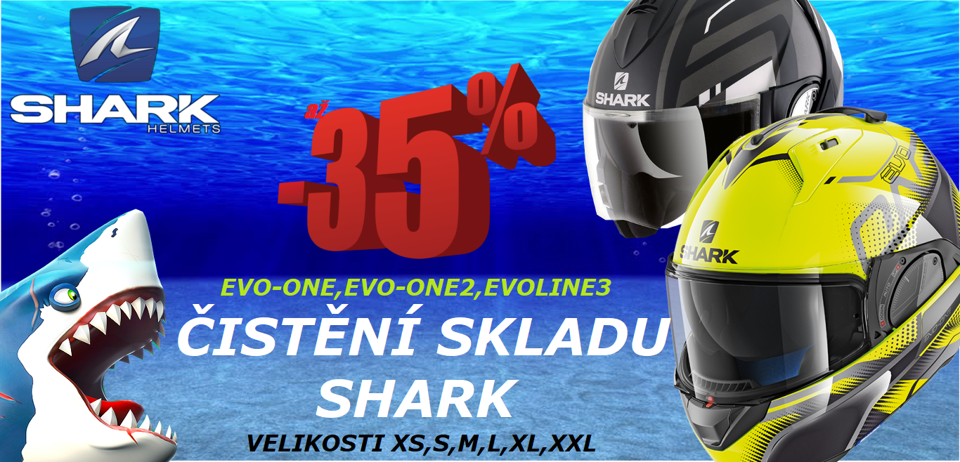 SHARK EVOLINE 3, EVO ONE 2 ČIŠTĚNÍ SKLADU